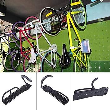 Panathlatic Ganchos y rieles – 2 Ganchos de Pared para Bicicletas ...