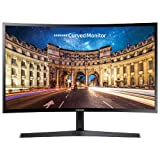 """Samsung 27"""" 1080p HD 60Hz 4ms Curved LED Monitor (LC27F396FHNXZA)_Black"""