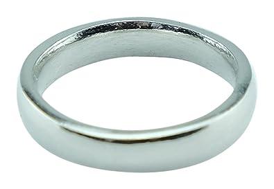 Amazoncom Womens10th Anniversary Ring Band 100 Tin Gift Idea