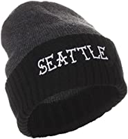 American Cities Seattle Washington Winter Knit Hat Cap Beanie