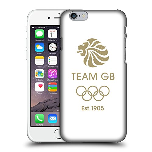 Official Team GB British Olympic Association EST Gold Logo Hard Back Case for Apple iPhone 6 / 6s
