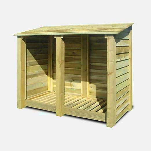 XFACTOR DEAL LIMITED 5FT Log Store - Caja de Madera para ...