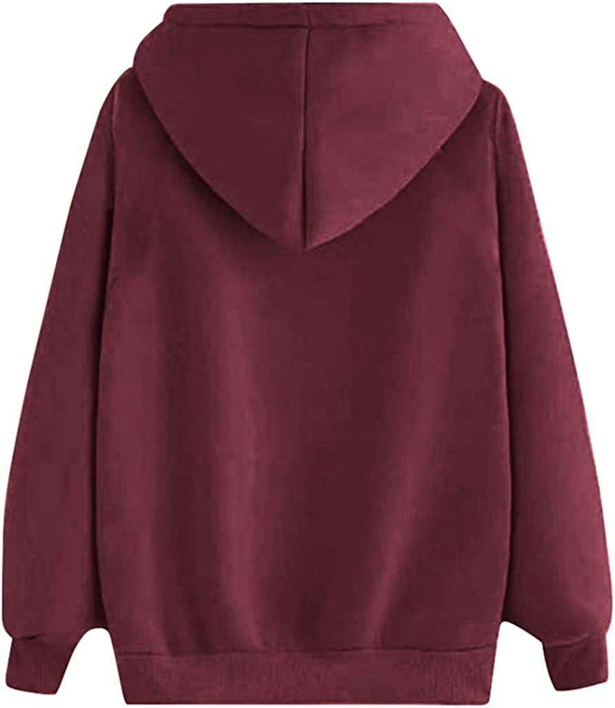 Womens Casual Solid Hoodies T Shirts Hooded Outwear Twist Knot Tunics Tops Blouses Pumpkin Pullover Coats WEI MOLO