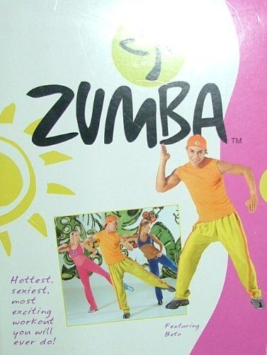 ZUMBA 4 DVD Set: Steps; Beginners; advanced; Rapido