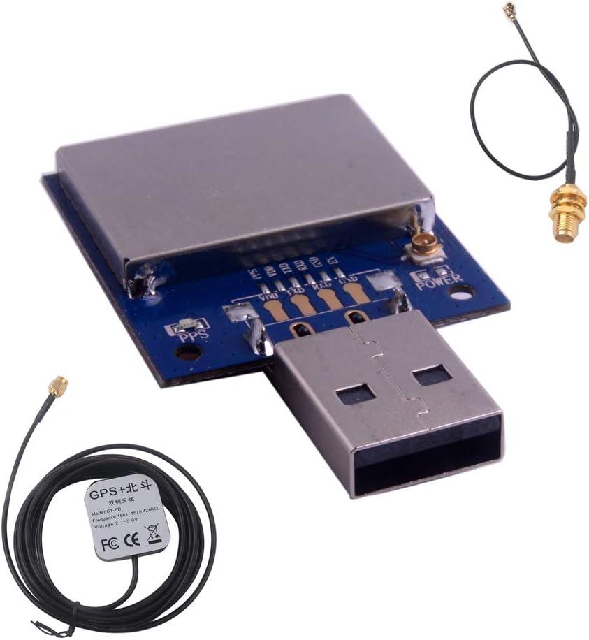 Módulo receptor USB Dongle GPS Gmouse Glonass Beidou con conector ...