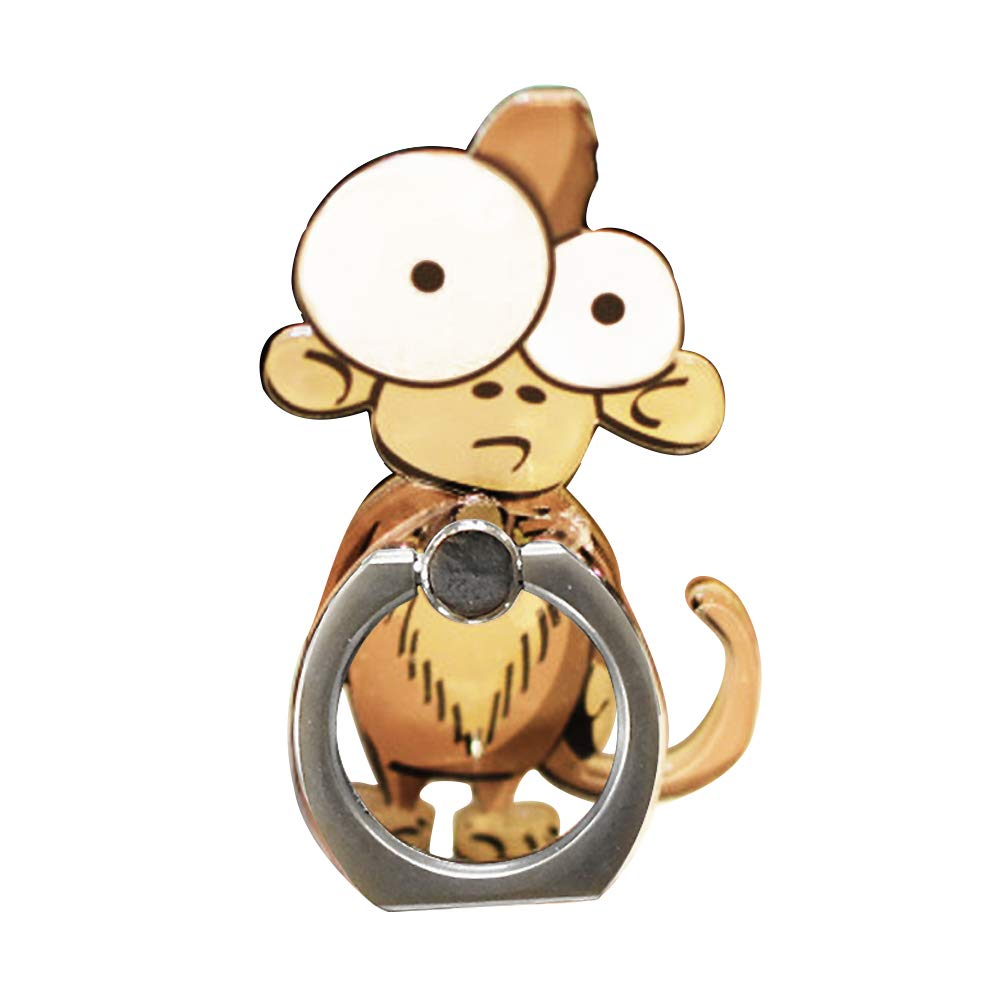 Cell Phone Finger Ring Holder Cute Animal Smartphone Stand 360 Swivel for iPhone, Ipad, Samsung HTC Nokia Smartphones Tablet,by UnderReef (Monkey) by UnderReef (Image #9)