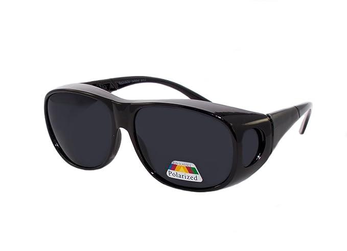 rainbow safety Sobre Gafas de Sol Polarizadas Para Conducir Día y Noche Pesca Gafas Superpuestas RWN10