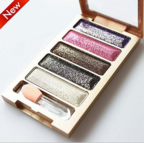 5 Color Eyeshadow Makeup Eye Shadow Palette Super Flash Diamond Eyeshadow High Quality Glitter#1