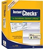 Instant Checks for QuickBooks, Quicken & Money: Form #1000 Business Voucher - Blue Graduated 500pk