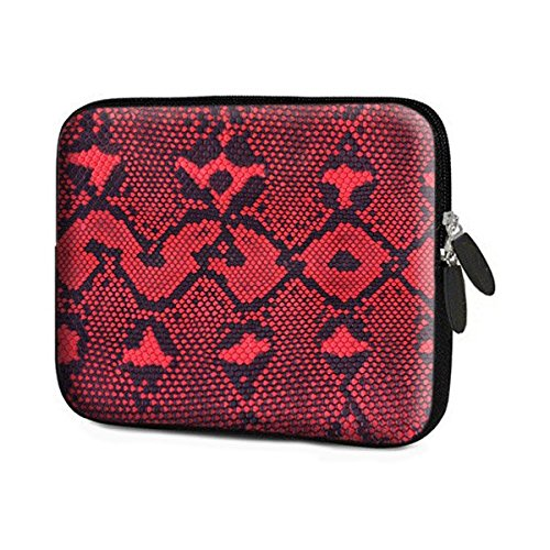 Theskinmantra Red Leather Laptop Sleeve for 15.6 inches Bags   Sleeves