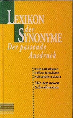 Lexikon der Synonyme