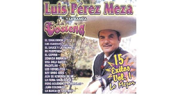 Zenaida Ingrata by Luis Pérez Meza Y La Banda La Costeña on Amazon Music - Amazon.com
