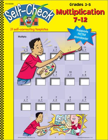 Self Check: Multiplication 7-12 (Grades 3-5) pdf epub