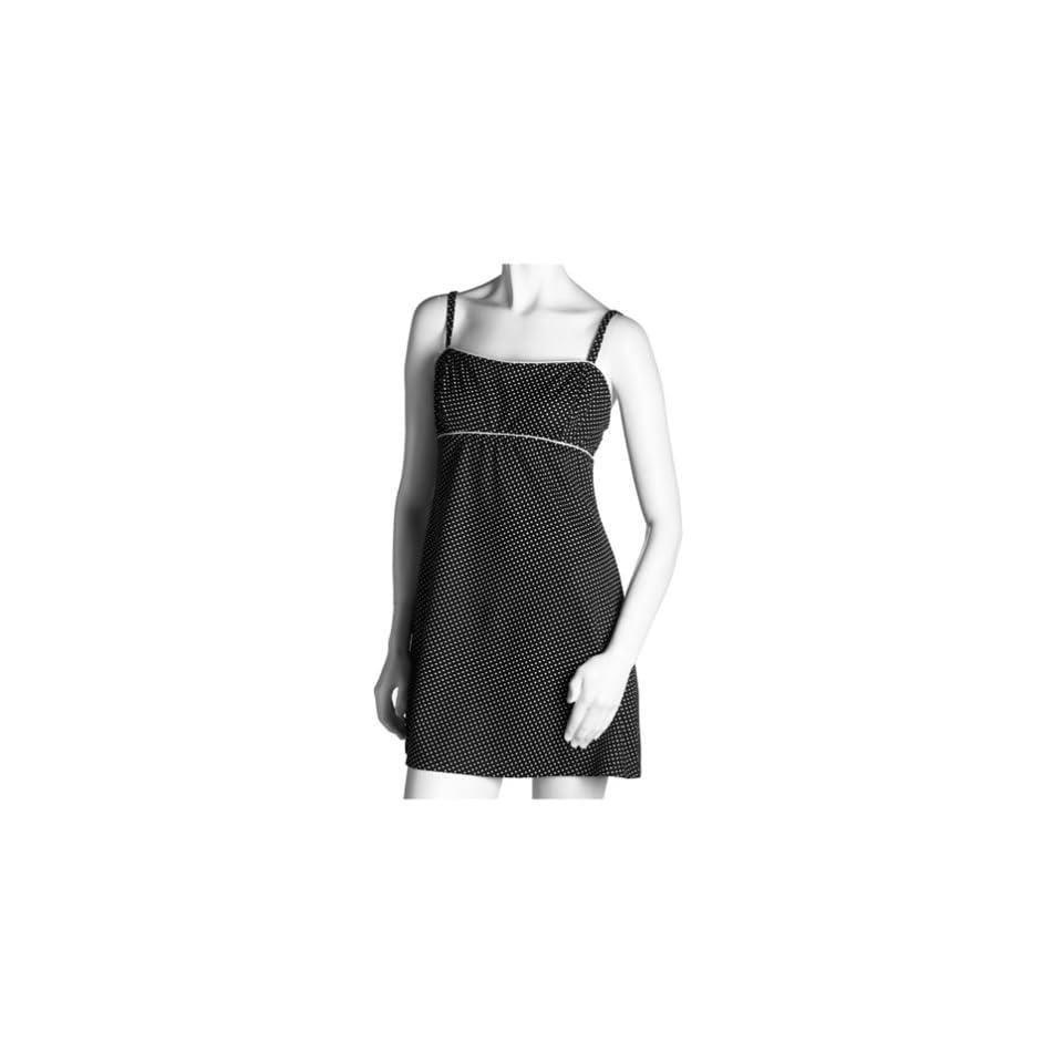 Jantzen Womens Missy Beach Betty Dress Cover Up, Black, Medium