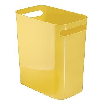 InterDesign Una Wastebasket Trash Can 12u0026quot;, ...