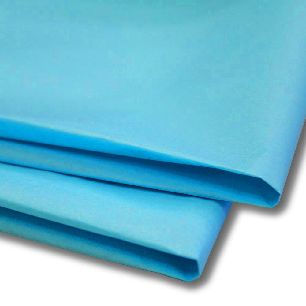 50 x Sky Blue Tissue Paper / Gift Wrap / Wrapping Paper Sheets (20 x 30) by Swoosh Supplies