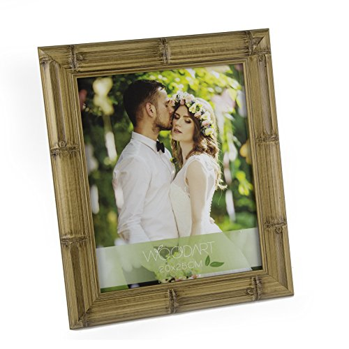 WoodArt Crafted Wooden Picture Frame (4x6