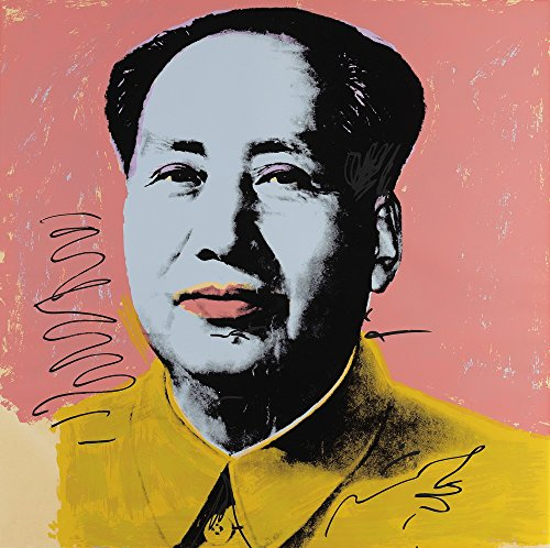 (Berkin Arts Andy Warhol Giclee Canvas Print Paintings Poster Reproduction Large Size (Mao) )