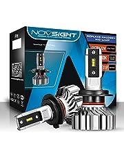NOVSIGHT H7 LED Koplamp Lampen Beam Wit 6500 K 10000LM 50 W/Paar Auto Koplampen Kit Waterdicht 2 Lampen Zero Noise Fanless