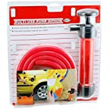 Liquid Transfer Gasoline Water and Air Siphon Inflation Pump with Hose