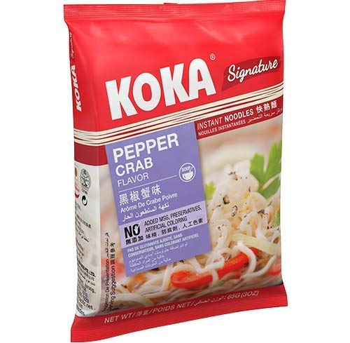 KOKA Signature Pepper Crab Noodles(85g x 7 Packs): Amazon.in: Grocery & Gourmet Foods