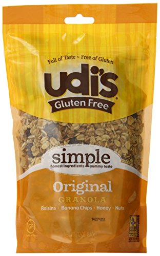 Udi's Gluten Free Granola, Original, 12-Ounce Pouches (Pack of 3)