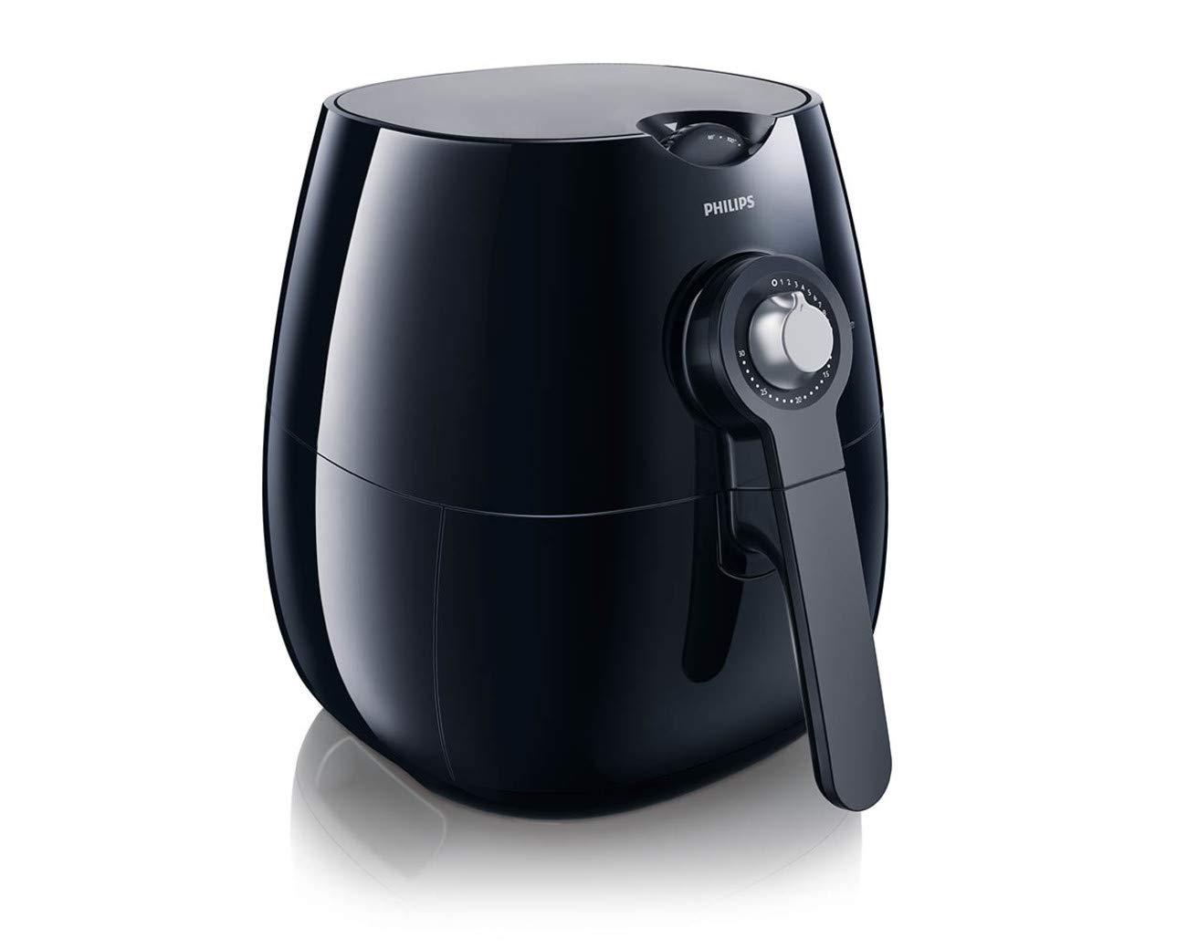 Philips HD9220/29 Airfryer, 1.8lb/2.75qt, Black by Philips Kitchen Appliances