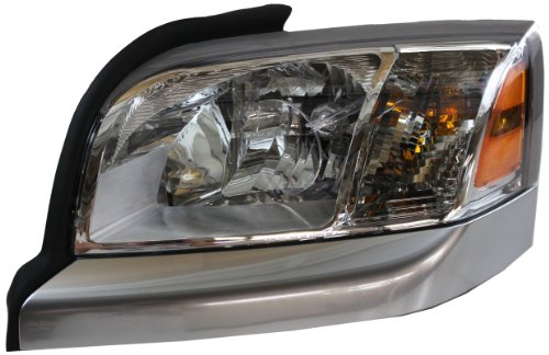 Genuine Mitsubishi 55077745AD Raider Driver Side Headlight Lens/Housing (Partslink Number MI2518103)