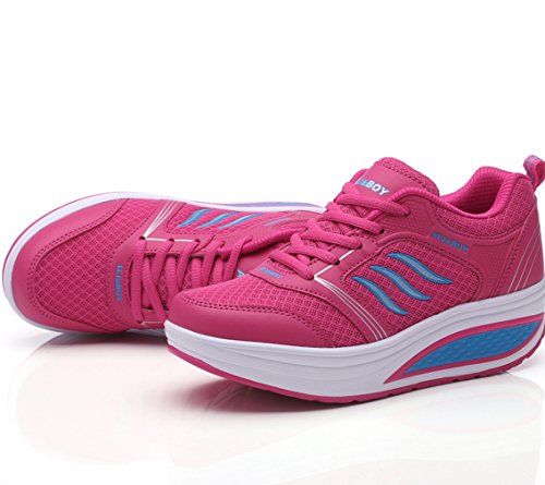 Solshine Chaussures Compensées Pink2 Femme Solshine Chaussures aS8gwpqra