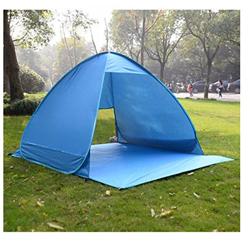 Portable Pop Up Beach Canopy Sun Shade Shelter Outdoor Camping Fishing Tent Blue by Unbranded*