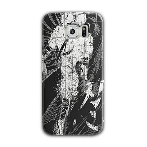 [Asian Ninja Warrior Battle Kick NEW Black 3D Samsung Galaxy S6 Case | Wellcoda] (3 Ninjas Kick Back Costume)