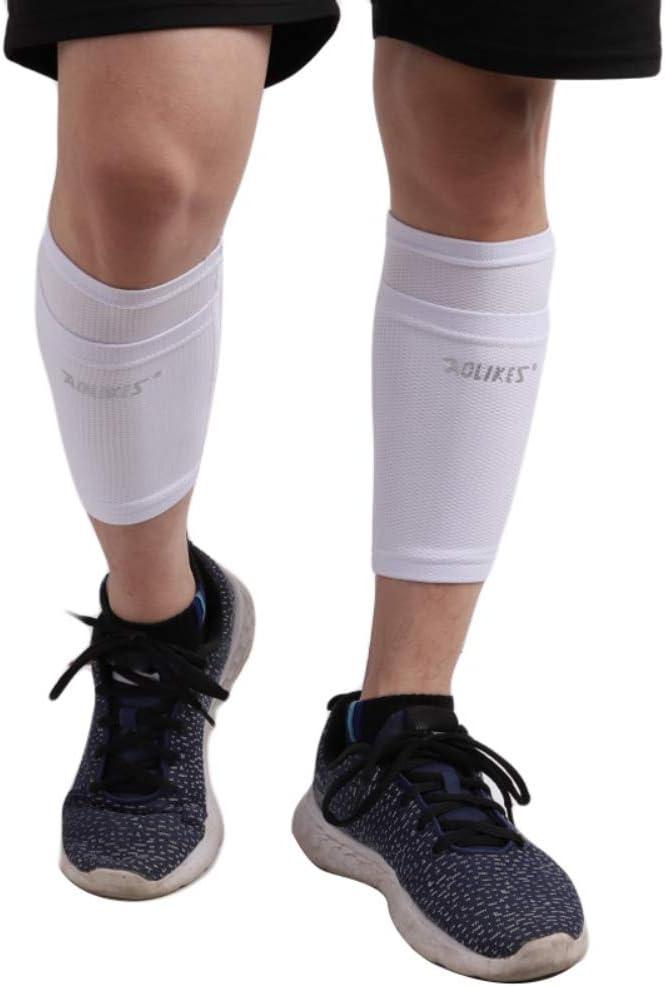 Erwachsene Kinder Atmungsaktive Gamaschen Socken Leezo Fu/ßball-Schutzsocken mit Tasche f/ür Fu/ßball-Schienbeinschoner Bein/ärmel Schienbeinschoner-Halter Socken /Ärmel Erwachsene St/ützsocke