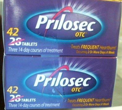 Prilosec OTC Acid Reducer, Delayed-Release Tablets, 84 Count [7A13R16X9] by Prilosec ()