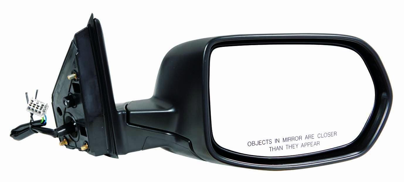 Depo 317-5402R3EB Black Passenger Side Power Non-Heated Mirror