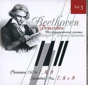 Beethoven. The Complete Piano Sonatas, Vol. 3. Sonatas Sonaty No. 7, 8, 9