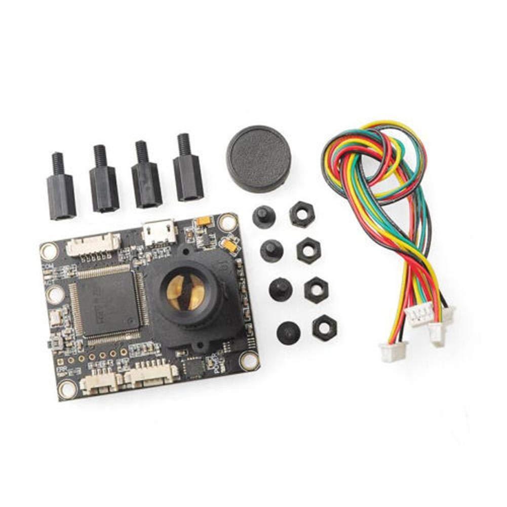 TRULIL Sensor de Flujo óptico Cámara Inteligente Ultrasónico Módulo para Controlador de Vuelo PX4 PIX