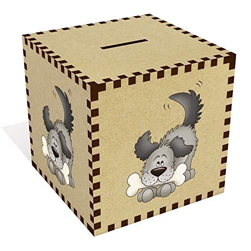 (Azeeda Large 'Dog with Bone' Money Box / Piggy Bank (MB00072870))