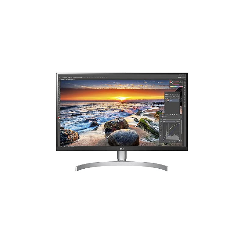 "LG 27UK850-W 27"" 4K UHD IPS Monitor with"