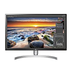 Upgrade to an LG IPS 4K screen, delivering ultra HD resolution with supremely accurate colors, even when viewed off angle. The 27UK8550 W, 27 inch display offers versatility of USB Type C connectivity plus the Benefit of HDCP 2.2 compatibilit...