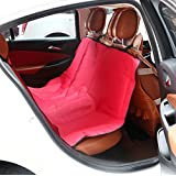 QR Pet Car Seat Cover for Dogs Pets Waterproof Universal for All Cars Pet Seat Cover for Cars Dog Car Seat Cover - Car Backing Seat Cover for Pet Best Hammock Dog Car Seat Cover