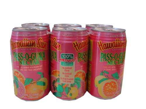 Passion Fruit & Guava Pass-O-Guava Non Carbonated Drink - 11.5 oz (Pack of (Hawaiian Passion Fruit)