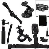 Luxebell 6-in-1 Accessories Kit for Sony Action Cam Contour Roam Roam2 Roam3 +2 +Plus Hd 1080p Waterproof Video Camera