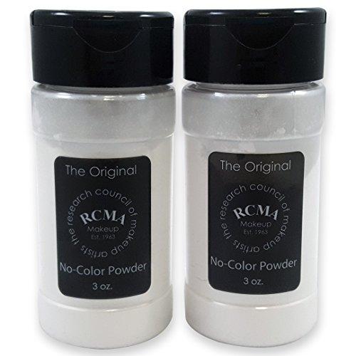 RCMA No Color Powder 3 oz Shaker Top Bottle 2 Pack