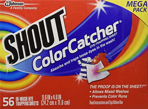 Shout Color Catcher Washer Trapping