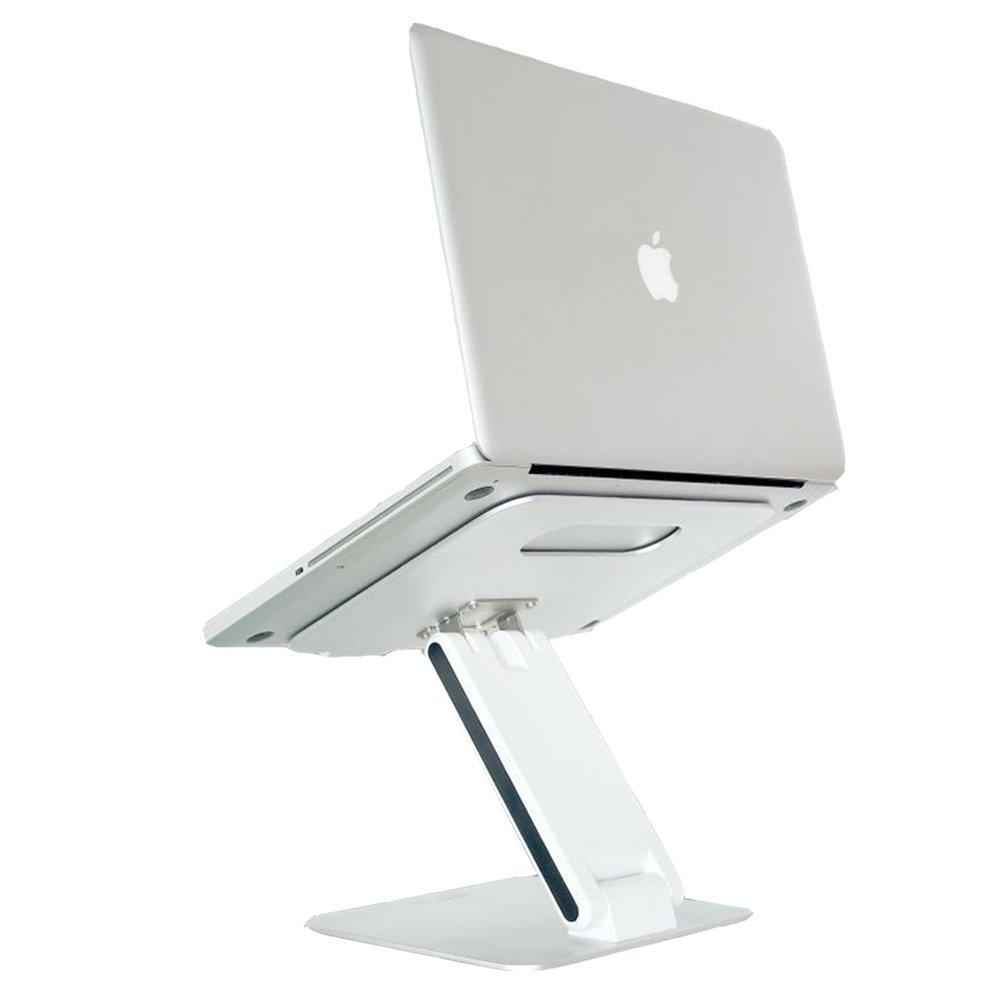SKYZONAL Aluminum Notebook Desktop Stand Height adjustable Laptop Stand For Computer PC Notebook Macbook Ipad