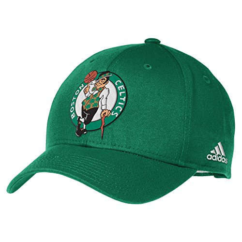 NBA Boston Celtics Men's Basics Structured Adjustable Hat, One Size, Green