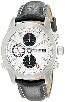 Bremont Men's Alt1 - WT/WH Analog Display Swiss Automatic Black Watch