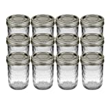 Kerr 1 Pint Canning Jar Regular Mouth 70610-00503 - 12 / CS, Pack of 5