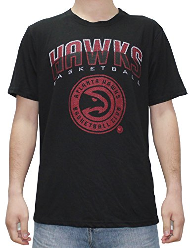 NBA Mens ATLANTA HAWKS: Athletic Short Sleeve T Shirt XL Black by NBA