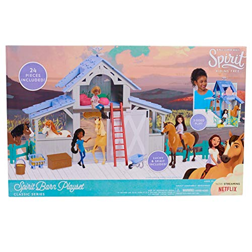 Spirit 39061 Riding-Free Barn Playset, Multicolor for sale  Delivered anywhere in USA